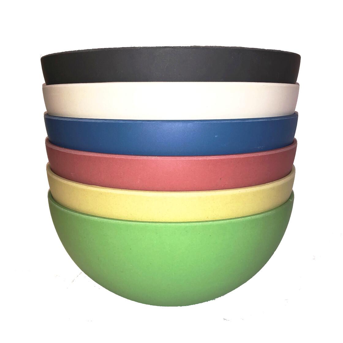Magu Schussel 6er Set 16 Cm Bunt Umweltfreundliches Geschirr Bambus 27 65