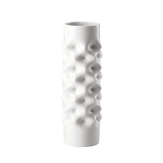 Rosenthal Vibrations Weiss Vase 25 cm 14272-800001-26025