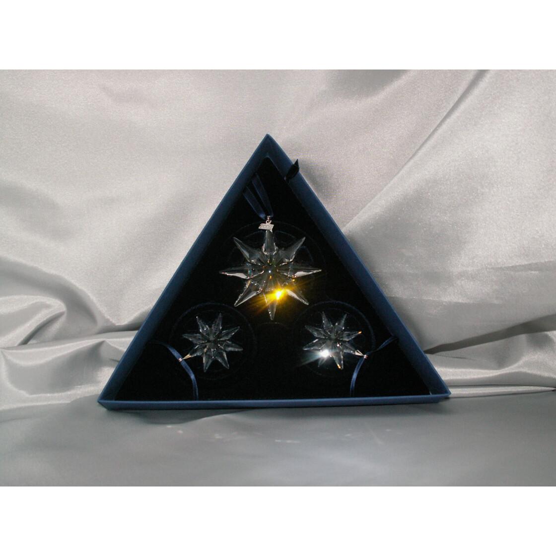 Swarovski Sterne-Set 2009 Christmas-Ornament Set of 3 ...