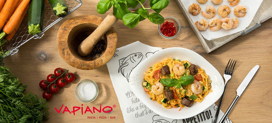 Pizza, Pasta & Salat by Vapiano